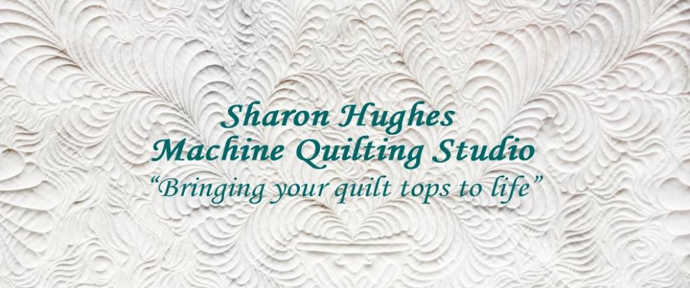 Sharon Hughes Machine Quilting Studio