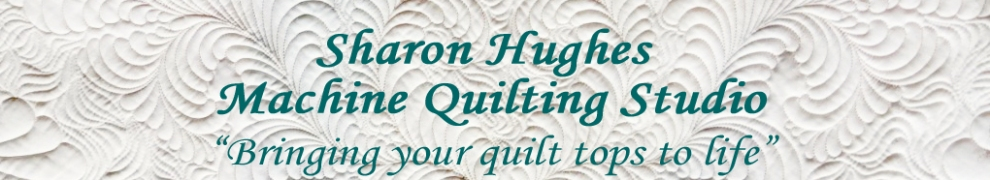 Sharon Hughes Machine Quilting Studio
