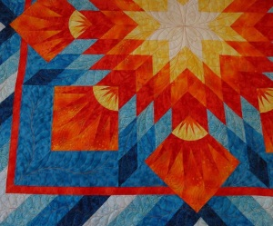 Sharon Hughes Machine Quilting Studio 4_ Summer Soltice