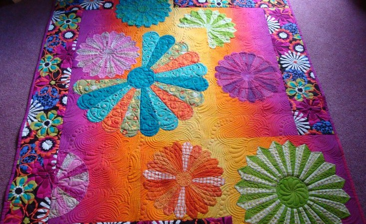 Fabric Tips: | Sharon Hughes Machine Quilting Studio : hand dyed fabric for quilting - Adamdwight.com